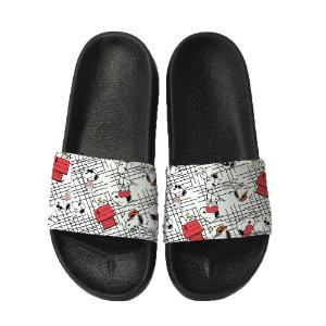 Chinelo Slide Sandalia Unissex Top - Snoopy