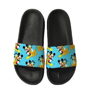 Chinelo Slide Sandalia Unissex Top - Mickey Pluto