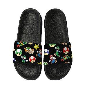 Chinelo Slide Sandalia Unissex Top - Super Mario Bros