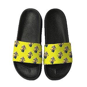 Chinelo Slide Sandalia Unissex Top - Minions