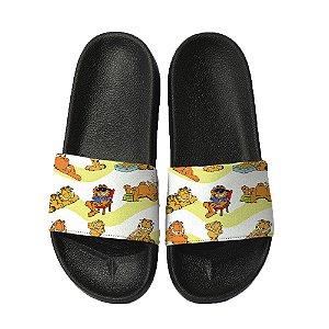 Chinelo Slide Sandalia Unissex Top - Garfield