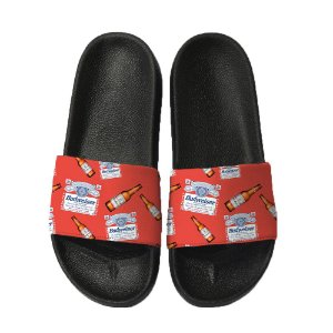 Chinelo Slide Sandalia Unissex Top - Budwaiser Beer