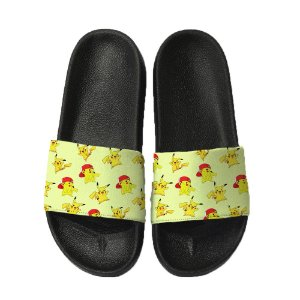 Chinelo Slide Sandalia Unissex Top - Pokemon