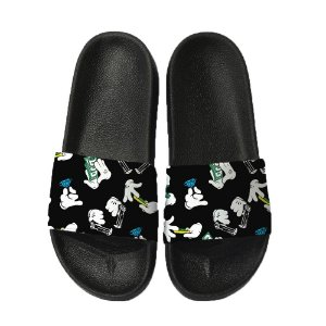 Chinelo Slide Sandalia Unissex Top - Mickey Mouse Thug Life