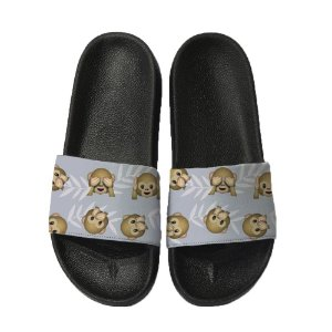 Chinelo Slide Sandalia Unissex Top - Emoji Mico
