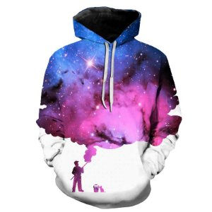 Blusa Moletom Estampa Full 3D - Painter Galaxy