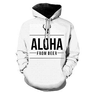 Blusa Moletom Estampa Full 3D - Aloha From Deer