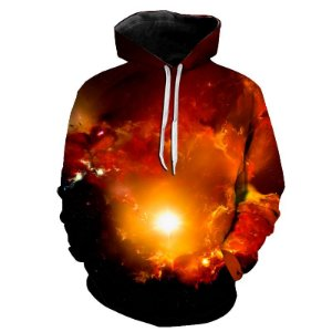Blusa Moletom Estampa Full 3D - Galaxy