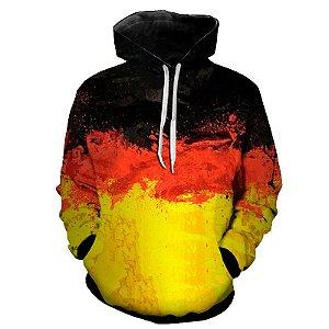 Blusa Moletom Estampa Full 3D - Bandeira Alemanha