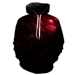 Blusa Moletom Estampa Full 3D - Buraco Negro