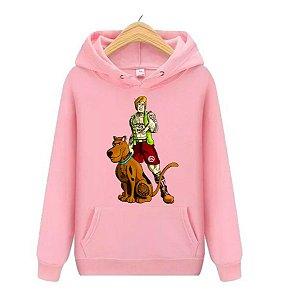 Blusa Agasalho Casaco Moletom Scooby Doo Salsicha