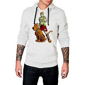 Blusa Agasalho Casaco Moletom Scooby