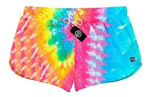 Short Feminino Bermuda Tie Dye