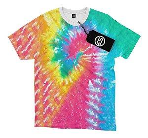 Camisa Camiseta Tie Dye
