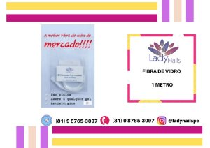 FIBRA DE VIDRO - LADY NAILS