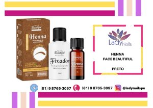 HENNA FACE BEAUTIFUL - PRETO