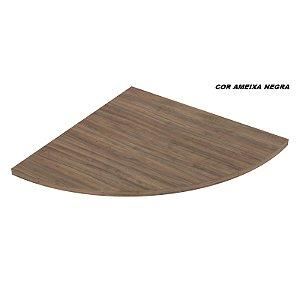 Conexão Arredondada em madeira para Mesas de 25mm de espessura linha Dallas