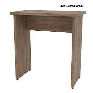 Mesa em madeira 25mm de espessura 70cm larg x 40cm prof para Notebook