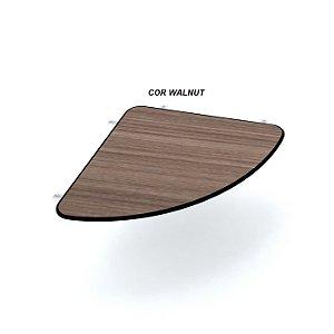 Conexão Arredondada em madeira para mesas 15mm de espessura Linha Maxxi marca Pandin
