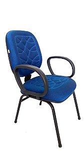 Cadeira Fixa Diretor Tecido Costura