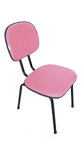 Cadeira Fixa Secretária em Corino