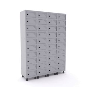 Armário em Aço modelo Porta Objetos