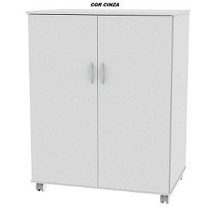 Armário em madeira modelo Porta Cartolina com Portas 110cm altura x 86cm largura x 56cm profundidade