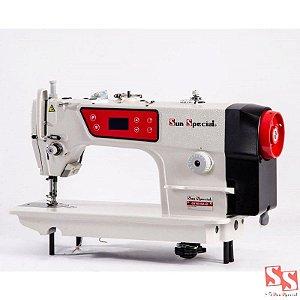 Máquina De Costura Industrial Reta  Direct Drive C/ Control Box E Painel Acoplad Cabeçote SS180-BA-QI