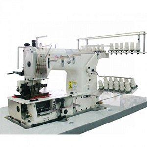 Máquina De Costura Industrial Elastiqueira 12 Agulhas - SSST-1212p/GW