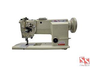 Máquina De Costura Industrial Prespontadeira Barra Alternada Lançadeira Grande SS31100S2BG