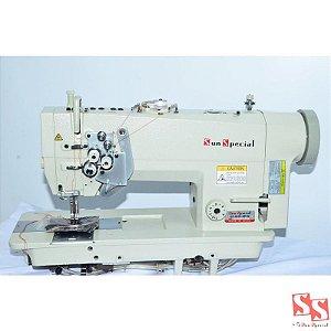 Máquina De Costura Industrial Prespontadeira Bivolt Diret Drive SS985CBD-NPW