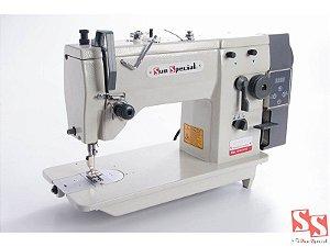 Máquina de Costura Industrial Zig Zag Semi Industrial com Motor Direct Drive SS20U-53-TZ-QI