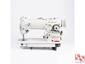Máquina de Costura Industrial Zig Zag SS-3384NG 02 e 03 pontos