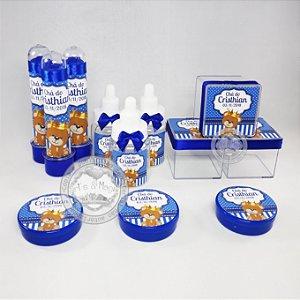Lembrancinhas Personalizadas Urso Príncipe 40 peças