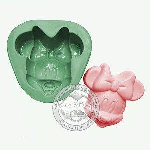 Molde de Silicone Rosto Minnie