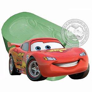 Molde de Silicone Carros Disney Mcqueen
