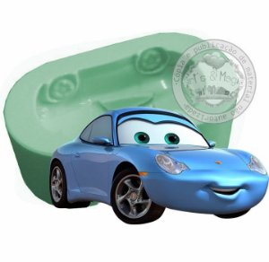 Molde de Silicone Carros Disney Sally