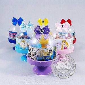 10 Mini Cúpulas Personalizadas