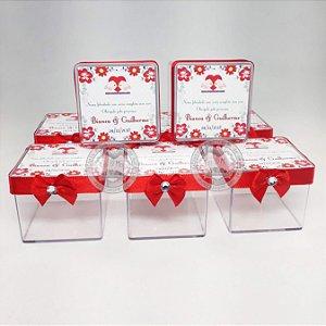 Caixinha Personalizada para Casamento