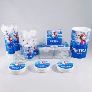 Kit Lembrancinhas Personalizadas Frozen