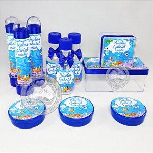 Kit Personalizado Fundo do Mar