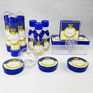 Lembrancinhas Personalizadas Coroa Realeza Menino