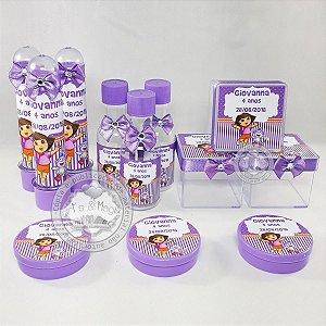 Kit Festa Infantil Personalizado Dora Aventureira