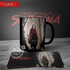 Caneca Personalizada O Mundo Sombrio de Sabrina
