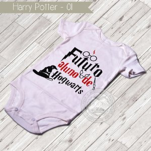 Body Infantil para bebê Harry Potter