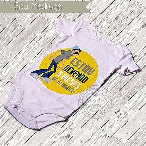 Body Infantil para bebê Seu Madruga