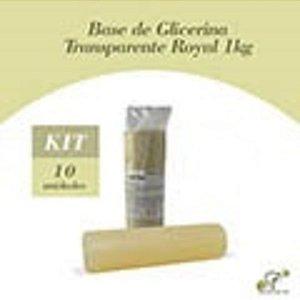 10 Bases Glicerina Transparentes Royal de 1 Kg