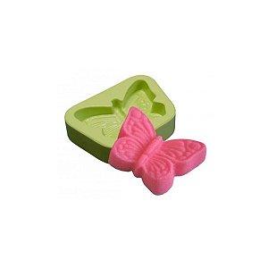 Forma de Silicone Molde Borboleta Pequena