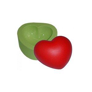 Forma de silicone Molde Coração Gordo