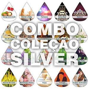 Kit 20 essências Silver 60ml + Frete Grátis